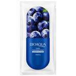 Ночная маска для лица с черникой BioAqua Blueberry Jelly Mask, 8 гр