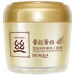 Ночная маска для лица с протеинами шелка BioAqua Silk Protein, 160 гр
