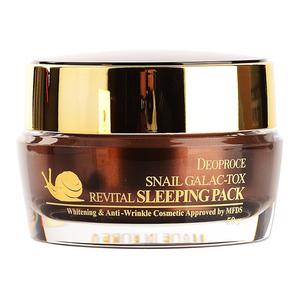 Ночная маска с муцином улитки Deoproce Snail Galac Revital Sleeping Pack, 50 гр