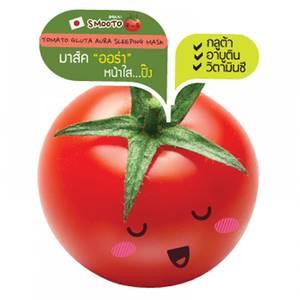 Ночная томатная маска с глутатионом и ретинолом Smooto, 10 мл
