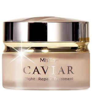 Ночной крем с черной икрой Mistine Caviar Night Repair, 30 мл