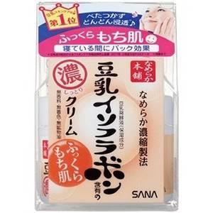Ночной питательный крем с изофлавонами сои Sana Soy Milk, 50 гр
