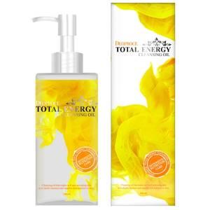 Очищающее масло для лица оливковое Deoproce Cleansing Oil Total Energy, 200 мл