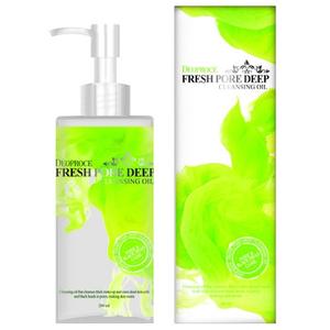Очищающее масло для лица виноградное Deoproce Cleansing Oil Fresh Pore Deep, 200 мл