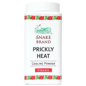 Охлаждающая классическая пудра-тальк Snake Brand Prickly Heat, 50 гр