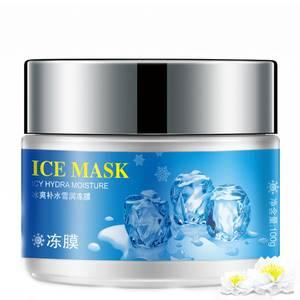 Охлаждающая маска-гель для лица с ментолом Rorec Ice Mask, 100 гр