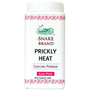 Охлаждающая пудра-тальк с ароматом розы Prickly Heat Snake Brand, 50 гр