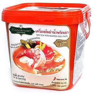 Основа для супа Том Ям с пастой Нам Пхрик Пхау Kanokwan, 1000 гр