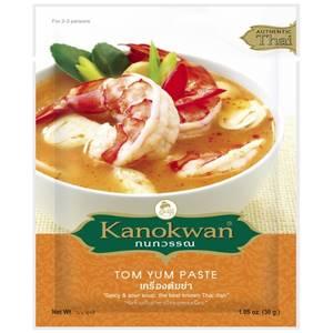 Основа для тайского супа Том Ям Kanokwan Tom Yum Paste, 30 гр