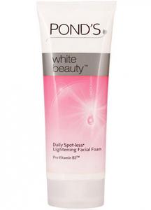 Осветляющая пенка для умывания Ponds White Beauty Spotless Rosy White Foam, 50 гр