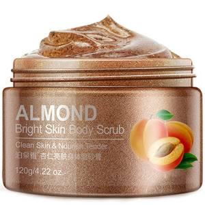 Осветляющий скраб для тела с маслом миндаля BioAqua Almond Bright Skin, 120 гр