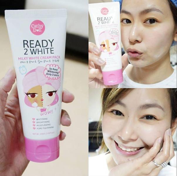 Отбеливающий крем для лица Cathy Doll Ready 2 White Milky Cream, 100 мл