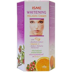Отбеливающий крем от пигментации Isme Whitening Melasma Cream, 10 гр