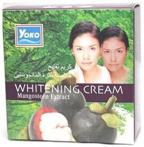 Отбеливающий крем с мангостином Yoko Mangosteen Whitening Cream, 4 гр