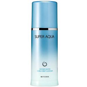 Пенка для лица Missha Super Aqua Oxygen Micro Visible Deep Cleanser, 120 мл