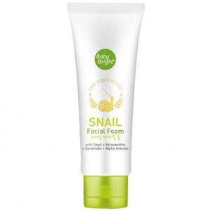 Пенка для умывания с муцином улитки Baby Bright Snail Facial Foam, 50 гр