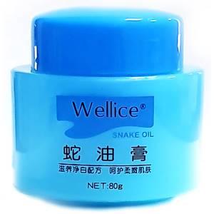 Крем для лица со змеиным жиром Wellice Snake Oil, 80 гр