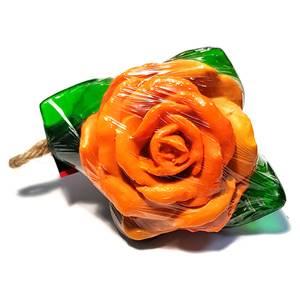 Мыло фигурное Оранжевая Роза Orange Rose, 100 гр