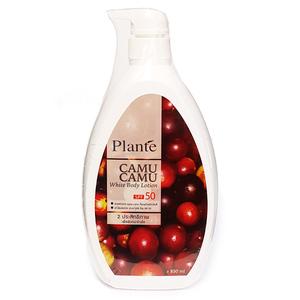 Отбеливающий лосьон для тела с ягодами камю-камю Plante SPF 50, 850 мл