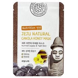 Питательная маска с медом канолы Welcos Jeju Canola Honey, 20 мл