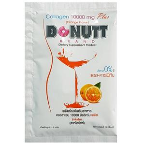 Питьевой коллаген со вкусом апельсина Donutt Collagen Peptide, 15 гр