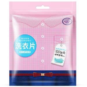 Пластины для стирки белья Rorec Clean Aromatic Wash Sheet, 20 шт
