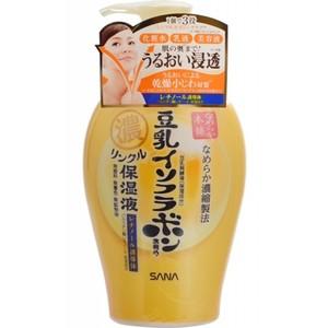 Подтягивающее молочко «3 в 1» с ретинолом и изофлавонами сои Sana, 230 мл
