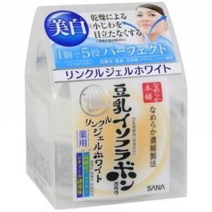 Осветляющий крем-гель с ретинолом и изофлавонами сои Sana, 100 гр