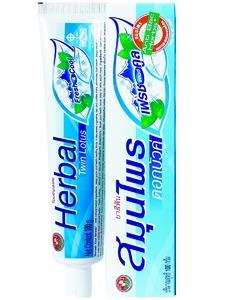 Растительная зубная паста «Twin Lotus Herbal Fresh&Cool», 100 гр