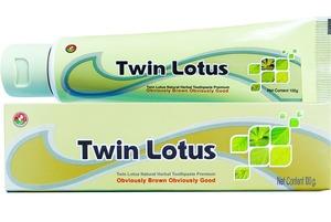Растительная зубная паста «Twin Lotus Premium», 100 гр