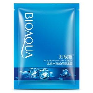 Тонизирующая маска для лица с родниковой водой Bioaqua, 30 гр