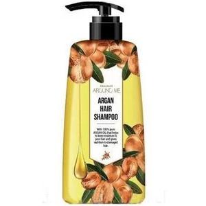 Шампунь для поврежденных волос Welcos Argan Hair Shampoo, 500 мл