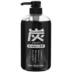Шампунь для волос с древесным углём Junlove Charcoal, 600 мл