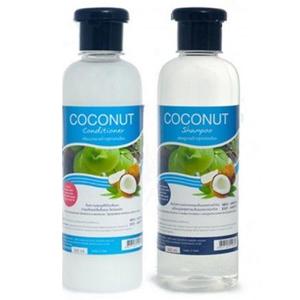 Шампунь и кондиционер с экстрактом кокоса Banna Coconut