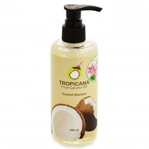 Шампунь с кокосовым маслом без парабенов Tropicana «Свежесть», 250 мл