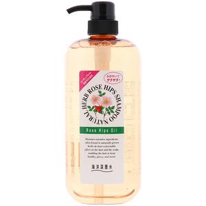 Шампунь с маслом шиповника для нормальных волос Junlove, 1000 мл