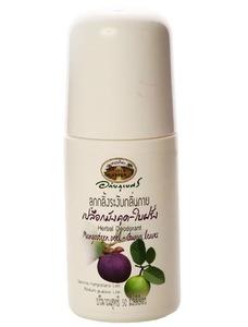 Шариковый дезодорант на фруктовой и травяной основе, 50 гр