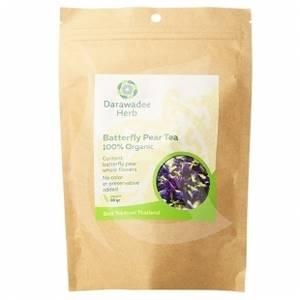 Синий чай из цветков Клитории Darawadee Herb, 100 гр