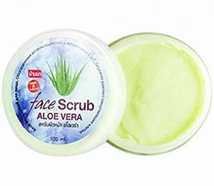 Скраб для лица с Алоэ Вера Banna Aloe Vera Scrub, 100 гр