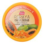 Скраб для лица с экстрактом папайи Banna, 100 мл