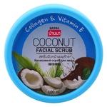 Скраб для лица с кокосом и коллагеном Banna, 100 мл