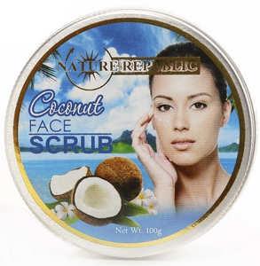 Скраб для лица с кокосом Nature Republic, 100 гр