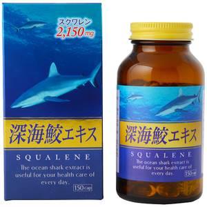 Сквален из жира печени акулы Mayuri, 150 шт