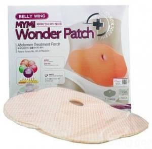 Слим пластырь для живота Belly Mymi Wonder Patch, 5 штук