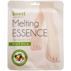 Смягчающая маска-носочки для ног Koelf Melting Essence Foot Pack