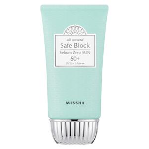 Солнцезащитный крем Missha Safe Block Sebum Zero Sun SPF50+ PA+++, 50 мл