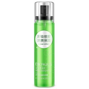 Спрей для снятия макияжа с минеральной водой BioAqua Cleansing, 120 мл