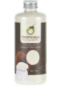Сухой кокосовый скраб Tropicana с эфирным маслом лаванды, 40 гр