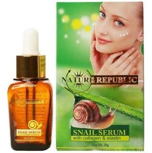 Сыворотка для лица и глаз с фильтратом улитки Nature Republic, 20 гр