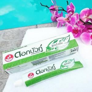 Тайская зубная паста Twin Lotus Herbal с травами, 35 гр